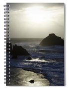 Seascape Oregon Coast 4 Spiral Notebook