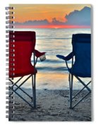 Seascape Serenity Spiral Notebook