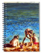 Seascape Series 3 Spiral Notebook