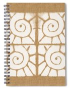 Seashell Tiles Spiral Notebook