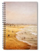 Seashore At Manhattan Beach Spiral Notebook