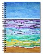 Seashore Blue Sky Spiral Notebook