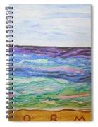 Sunny Seashore  Spiral Notebook