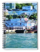 Seaside B And B Spiral Notebook