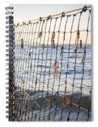 Seaside Nets Spiral Notebook
