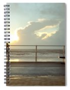 Seaside Person Spiral Notebook