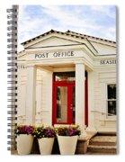 Seaside Post Office Spiral Notebook