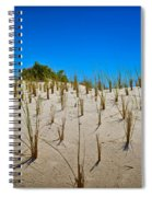 Seaside Sand Dunes Spiral Notebook