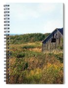 Seaside Shed - September Spiral Notebook