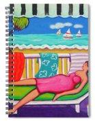 Seaside Siesta Spiral Notebook