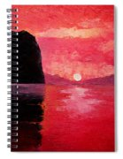 Seaside Sunset Spiral Notebook