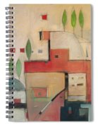 Seaside Villa Spiral Notebook