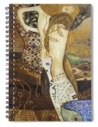 Seasnakes And Squiggles Spiral Notebook