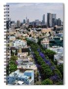 season change at Rothschild boulevard  Spiral Notebook