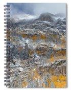 Seasonal Chaos Spiral Notebook