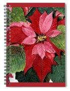 Seasonal Scarlet Spiral Notebook