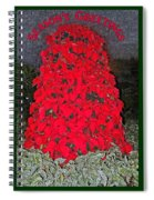 Season's Greetings Spiral Notebook