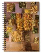 Seasons Spiral Notebook