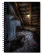 Seat In Darkenss Spiral Notebook
