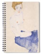 Seated Blue Nude, 1911 Spiral Notebook
