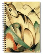 Seated Mythical Animal 1913 Spiral Notebook
