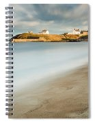 Seaton Sluice In Smooth Water Spiral Notebook