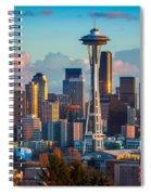Seattle Afternoon Spiral Notebook