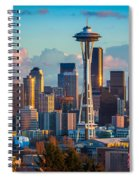 Seattle Afternoon Spiral Notebook