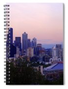 Seattle Dawning Spiral Notebook
