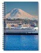Seattle Harbor Spiral Notebook