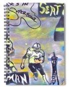 Seattle Seahawks 3 Spiral Notebook