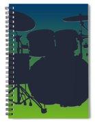 Seattle Seahawks Drum Set Spiral Notebook