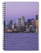 Seattle Skyline Panorama - Massive Spiral Notebook