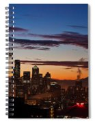Seattle Sunrise Spiral Notebook