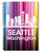 Seattle Wa 2 Spiral Notebook