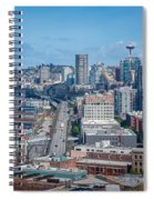 Seattle Waterfront Spiral Notebook