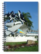 Seaworld Anticipation Spiral Notebook