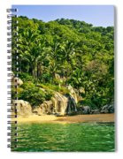 Secluded Beach Spiral Notebook