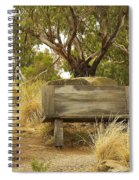 Secluded Bench Spiral Notebook
