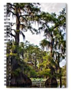Secluded Retreat Spiral Notebook