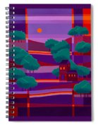 Secluded Villa Spiral Notebook