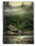 Seclusion On The Trinity Spiral Notebook