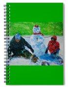 Second Snow Spiral Notebook