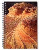 Second Wave Flow Spiral Notebook
