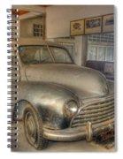 Second World War Car Spiral Notebook