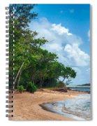 Secret Island Beach Spiral Notebook