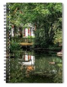 Secret Retreat - River Reflections Spiral Notebook