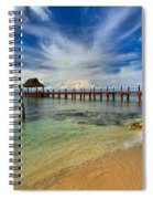 Secrets Aura Pier Spiral Notebook
