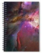 Secrets Of Orion II Spiral Notebook