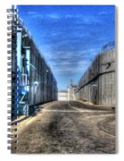 Security Wall Spiral Notebook